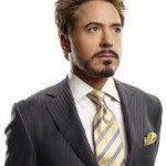 Robert Downey JR som Tony Stark